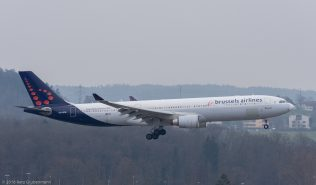 BrusselsAirlines_A333_OO-SFM_ZRH160325_01