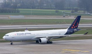 BrusselsAirlines_A333_OO-SFM_ZRH160325_02