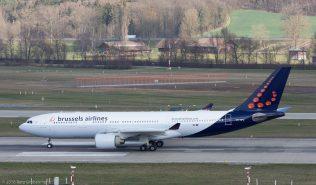 BrusselsAirlines_A332_OO-SFU_ZRH160326