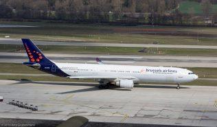 BrusselsAirlines_A333_OO-SFM_ZRH160326