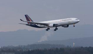 BrusselsAirlines_A333_OO-SFM_ZRH160326_01