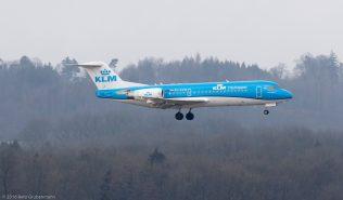 KLM_F70_PH-KZM_ZRH160326