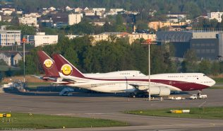 WorldwideAircraftHolding_B748_VQ-BSK_VP-BAT_B74S_ZRH160506