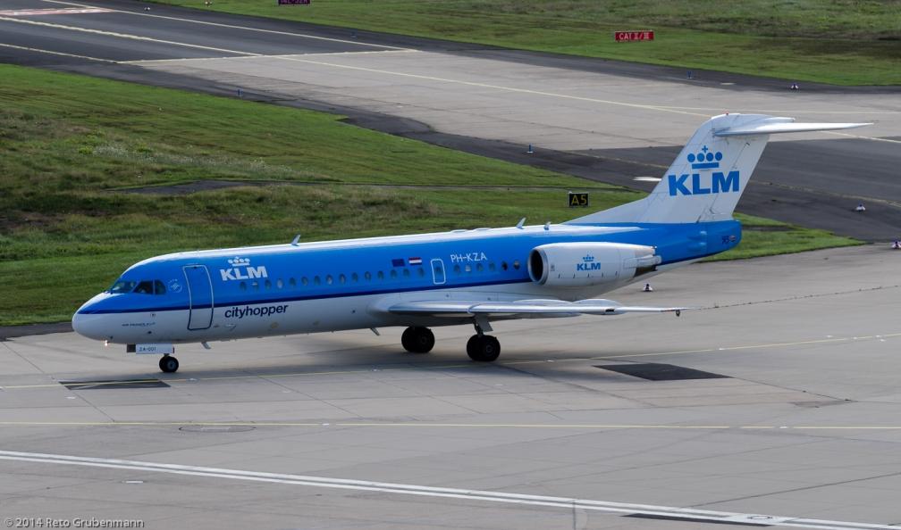 KLM_F70_PH-KZA_CGN140818