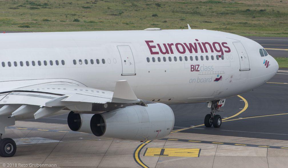 Eurowings_A343_OO-SCW_DUS181019_01