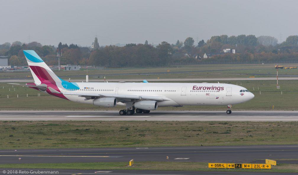Eurowings_A343_OO-SCW_DUS181019_02