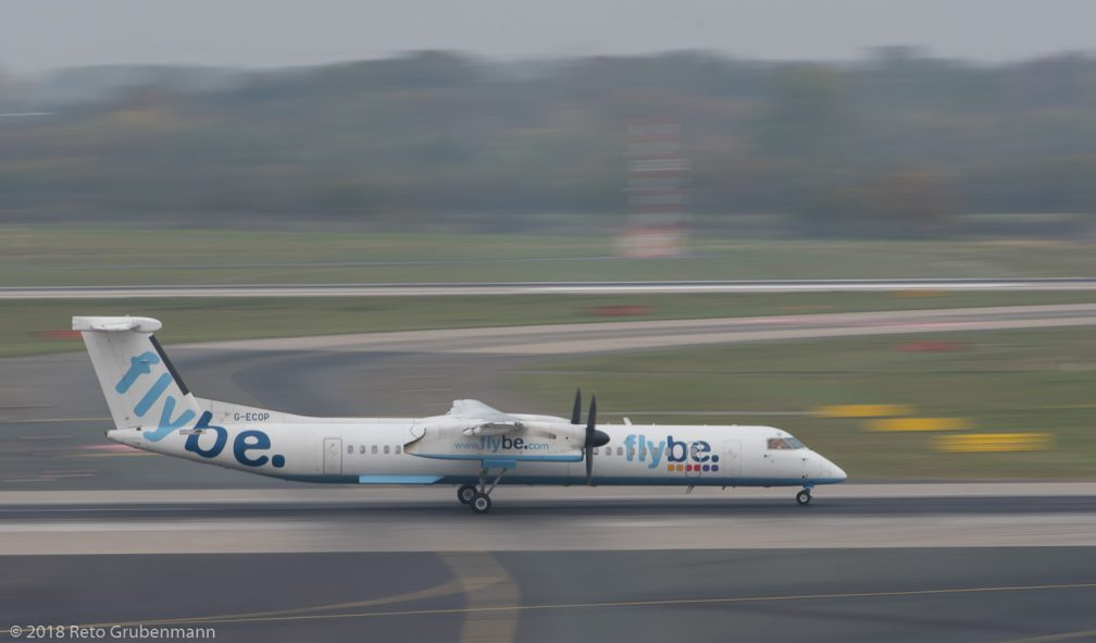 FlyBe_DH8D_G-ECOP_DUS181019