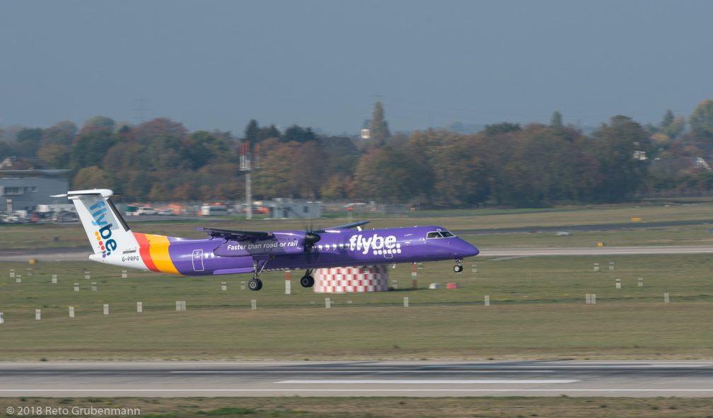 FlyBe_DH8D_G-PRPG_DUS181019_01