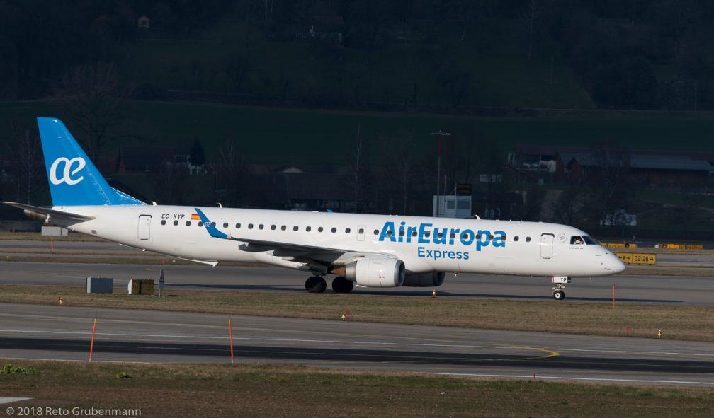 AirEuropa_E190_EC-KYP_ZRH180323