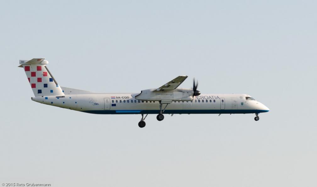 CroatiaAirlines_DH8D_9A-CQD_ZRH150711