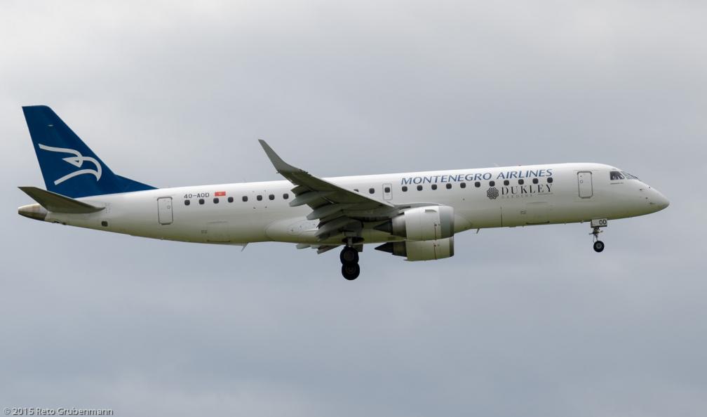 MontenegroAirlines_E190_4O-AOD_ZRH150725