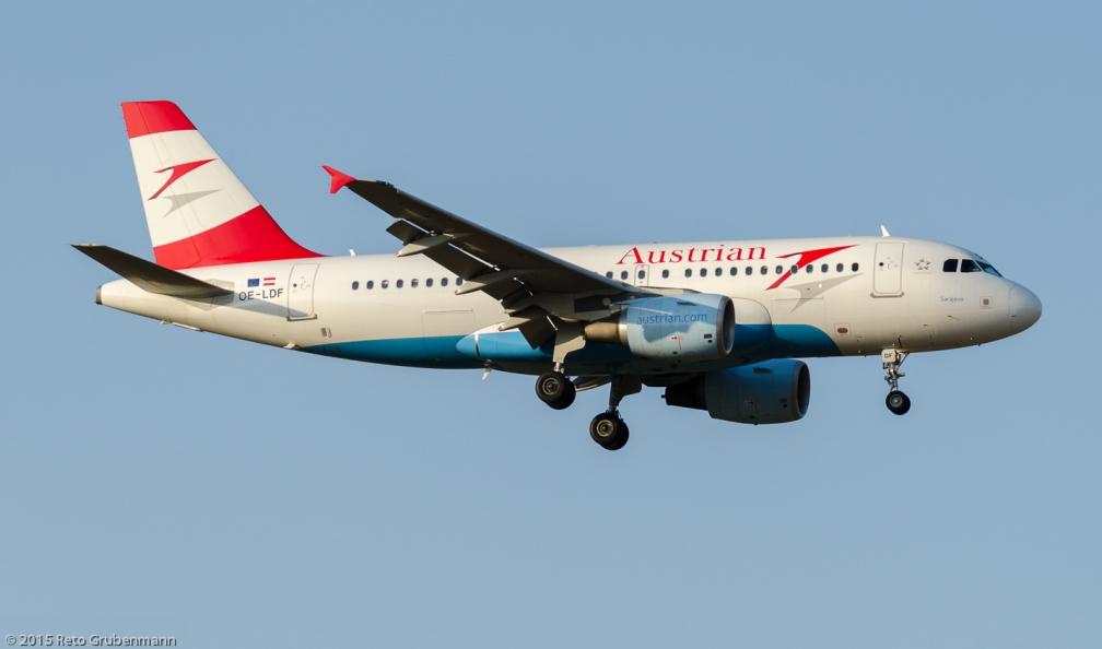 AustrianAirlines_A319_OE-LDF_ZRH150806