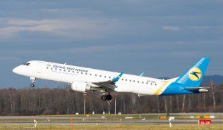 UkraineInternationalAirlines_E190_UR-EMD_ZRH151223