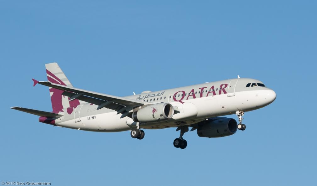 QatarAmiriFlight_A320_A7-MBK_ZRH151226