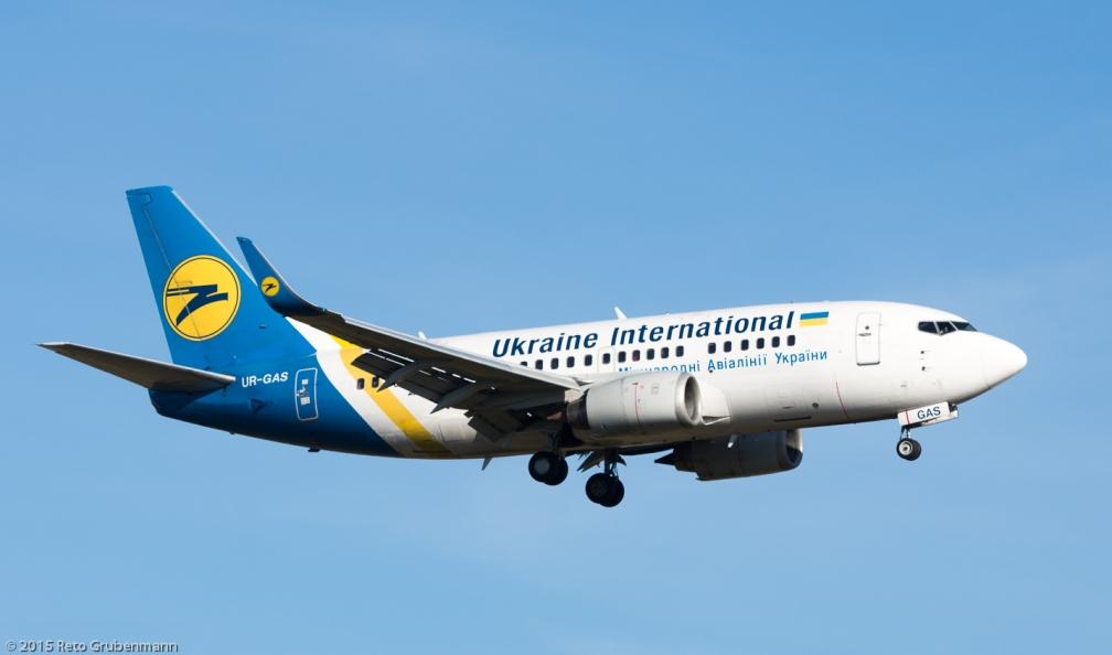 UkraineInternationalAirlines_B765_UR-GAS_ZRH151226
