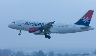 AirSERBIA_A319_YU-APA_ZRH160121