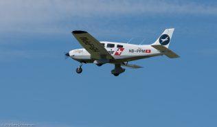 MotorfluggruppeZürich_P28A_HB-PPM_ZRH160814