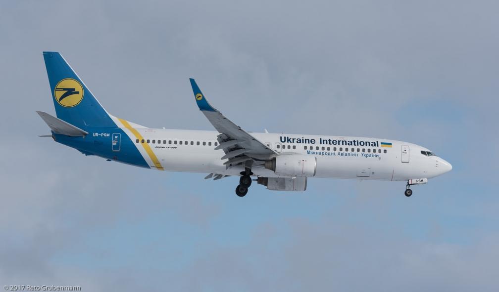 UkraineInternationalAirlines_B738_UR-PSM_ZRH170116