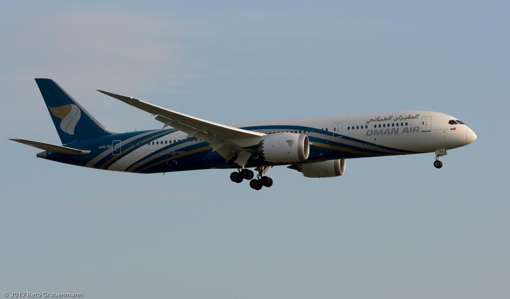 OmanAir_B789_A4O-SC_ZRH170412