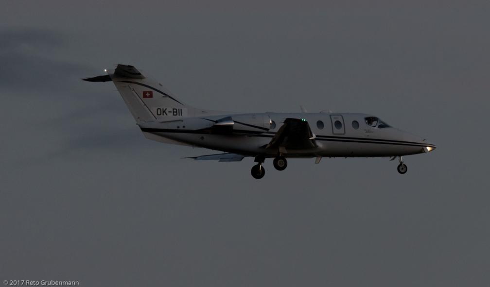 QueenAir_ BE40_OK-BII_ZRH170607