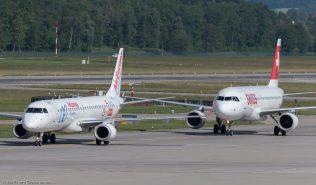 AirEuropa_E190_EC-LFZ_Swiss_A320_HB-IJL_ZRH170608