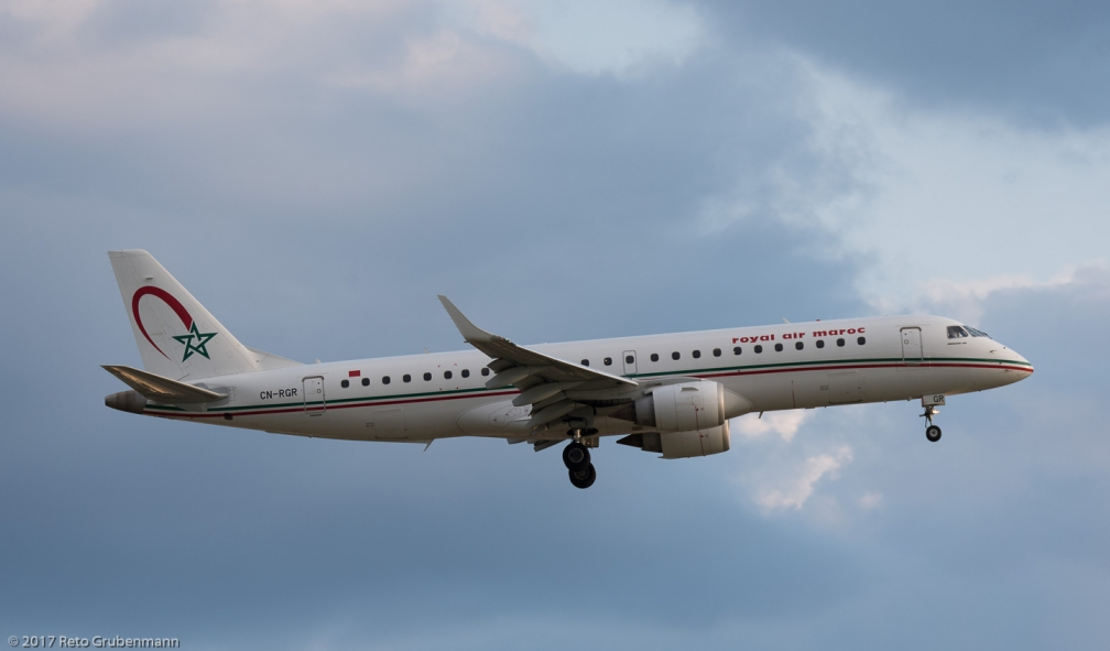 RoyalAirMaroc_E190_CN-RGR_ZRH170819