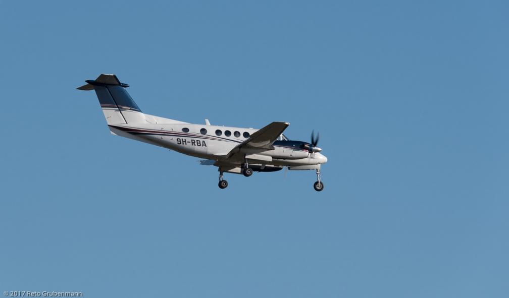 TyroleanJetService_BE20_9H-RBA_ZRH171213