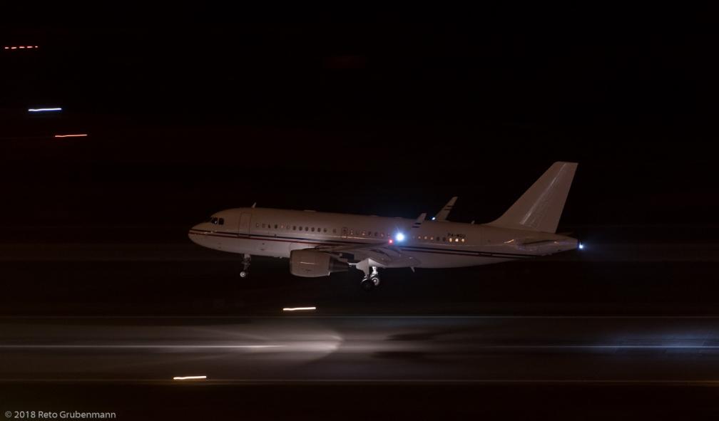 GlobalJetLuxembourg_A319_P4-MGU_ZRH180114