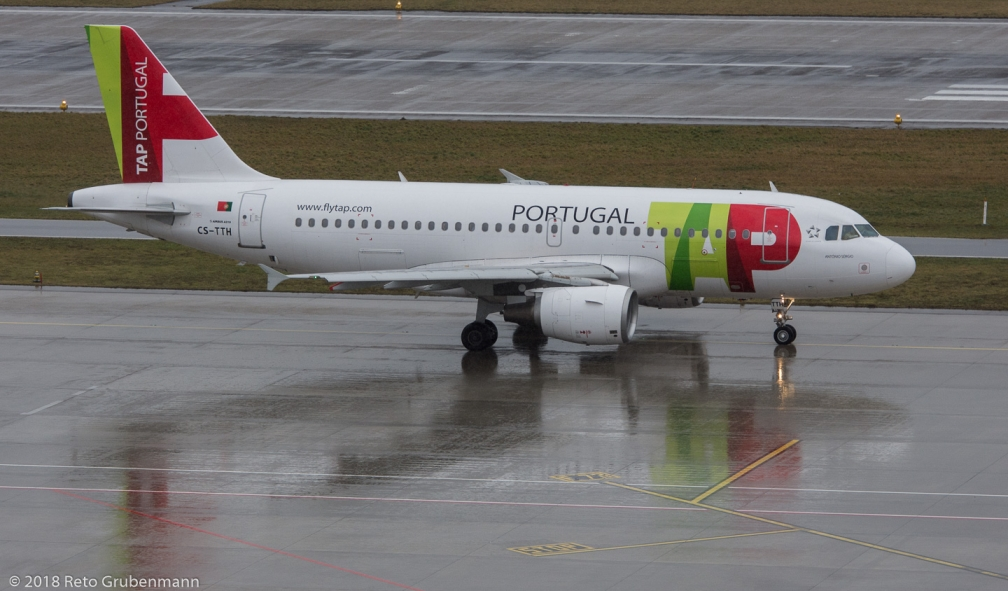 TAPPortugal_A319_CS-TTH_ZRH180122