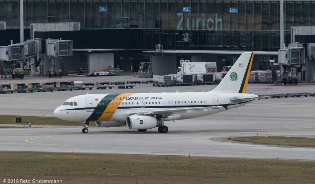BrazilianAirForce_A319_FAB2101_ZRH180123