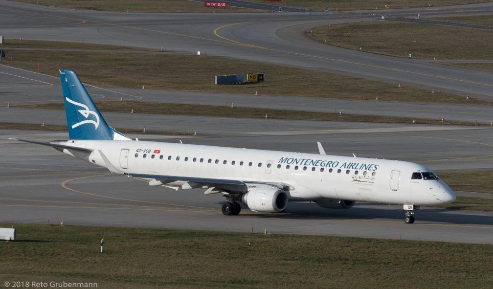 MontenegroAirlines_E190_4O-AOB_ZRH180124