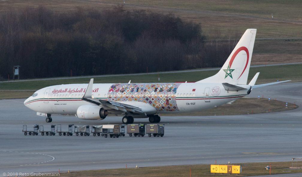 RoyalAirMaroc_B738_CN-RGF_ZRH180124