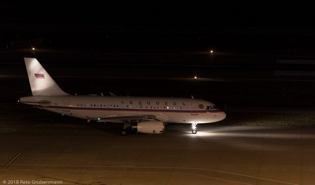 ArmeniaGovernment_A319_EK-RA01_ZRH180125