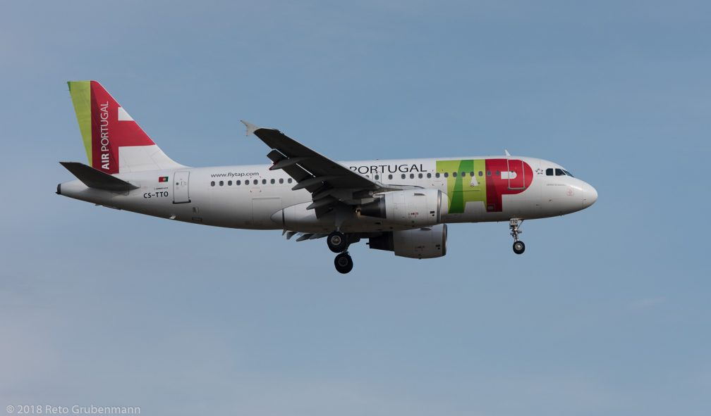 TAPPortugal_A319_CS-TTO_ZRH180126