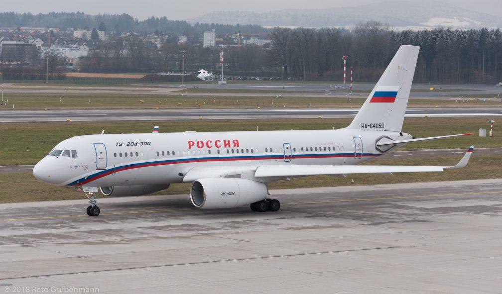 RossiyaSpecialFlightSquadron_T204_RA-64059_ZRH180218
