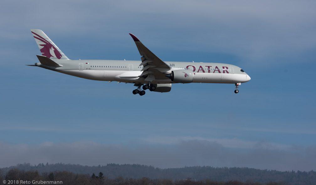 QatarAirways_A359_A7-ALI_ZRH180304