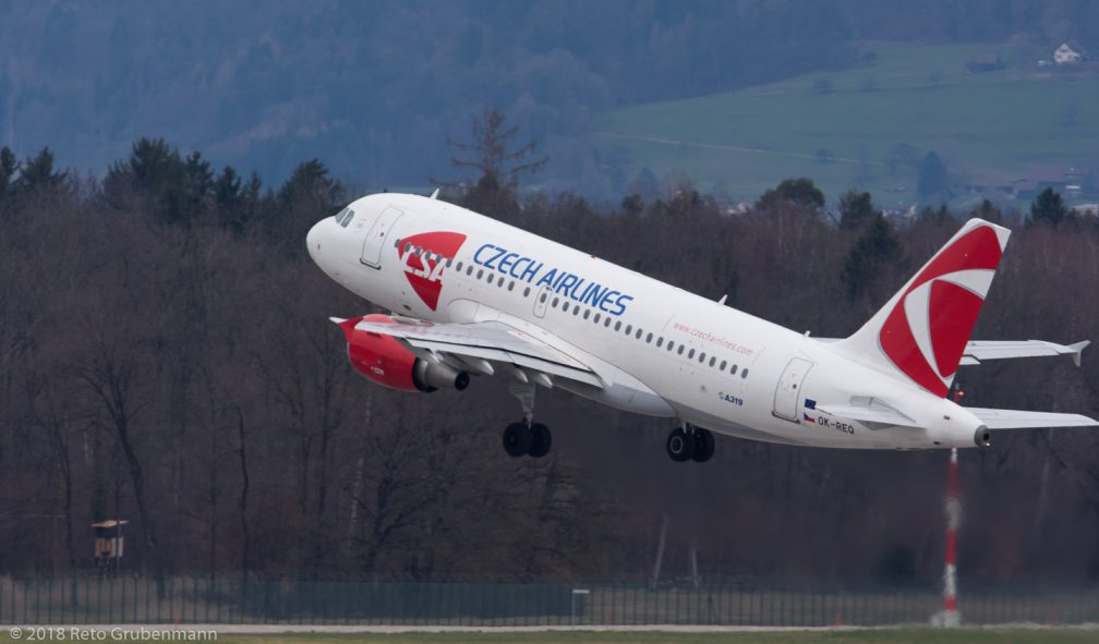 CzechAirlines_A319_OK-REQ_ZRH180330