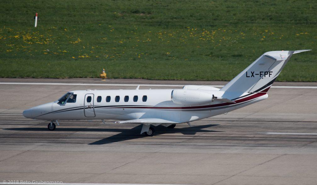 FlyingServicesLuxembourg_C25B_LX-FPF_ZRH180421