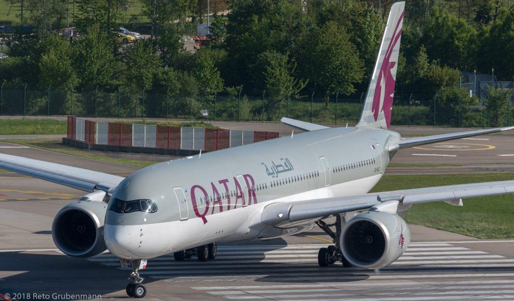 QatarAirways_A359_A7-ALF_ZRH180429