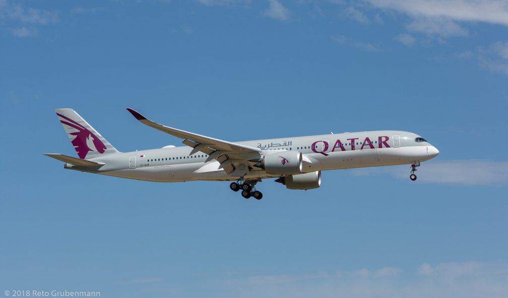 QatarAirways_A359_A7-ALM_ZRH180429