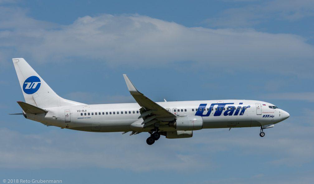 UTairAviation_B738_VQ-BJI_ZRH180429