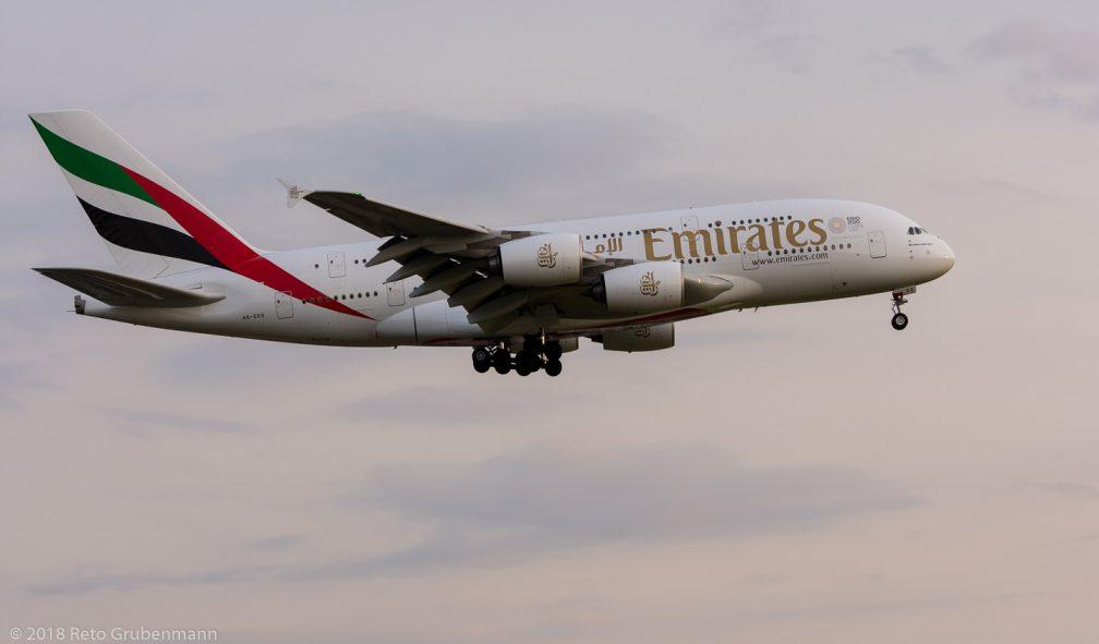 Emirates_A388_A6-EEG_ZRH180501