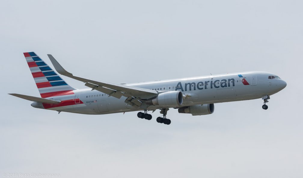 AmericanAirlines_B763_N347AN_ZRH180513
