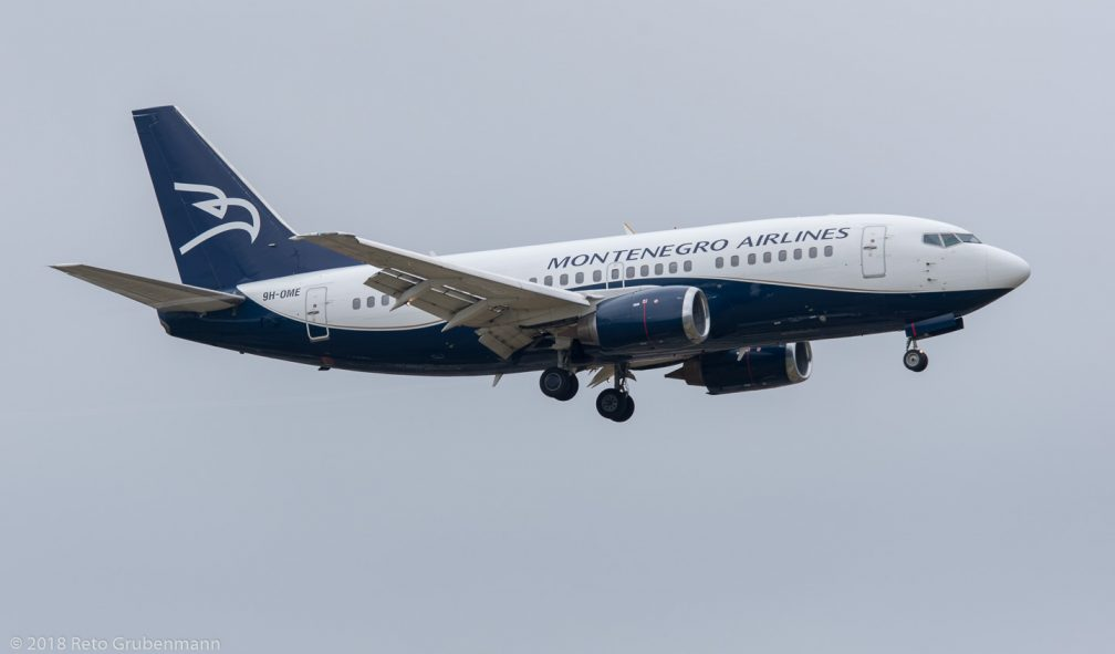MontenegroAirlines_B735_9H-OME_ZRH180513