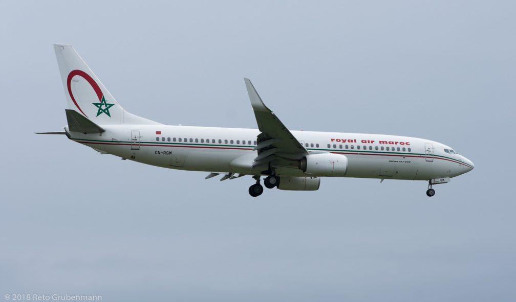 RoyalAirMaroc_B738_CN-RGM_ZRH180513