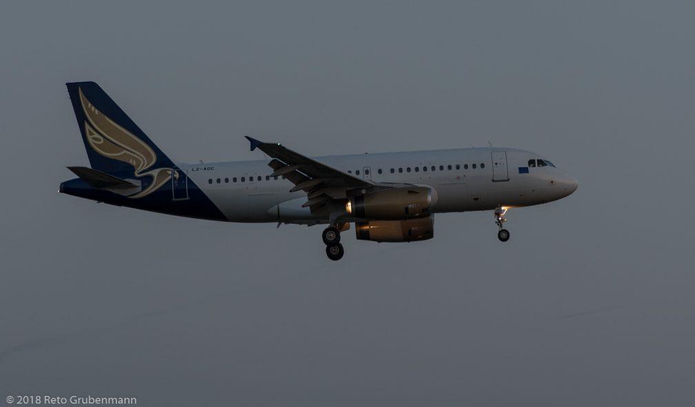 BulgarianEagle_A319_LZ-AOC_ZRH180525