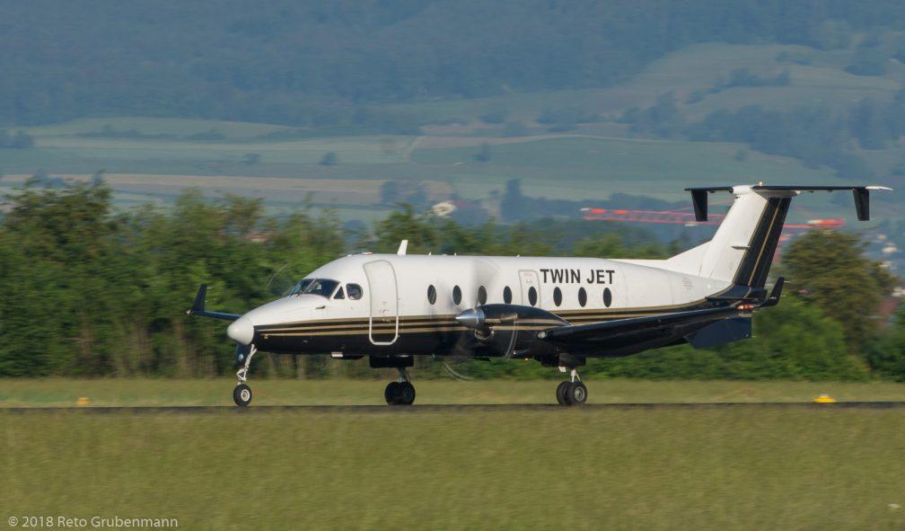 TwinJet_B190_F-GTVC_ZRH180530