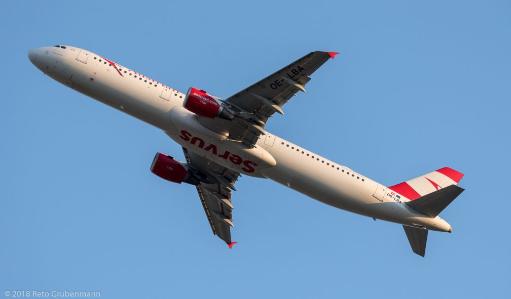 AustrianAirlines_A321_OE-LBA_ZRH180627