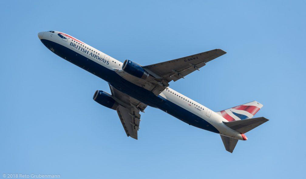 BritishAirways_B763_G-BNWZ_ZRH180627