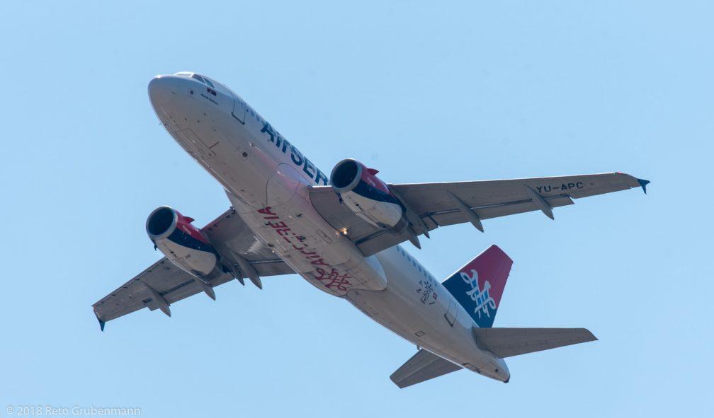 AirSERBIA_A319_YU-APC_ZRH180701
